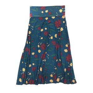 LuLaRoe Maxi Floral Skirt Size 2XL NWT